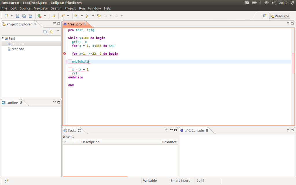 Creating an Eclipse IDE for GDL
